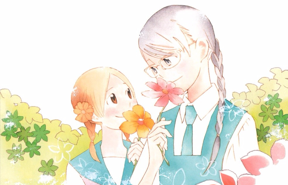 LGBTQ Manga Book Club: Sweet Blue Flowers Volume One